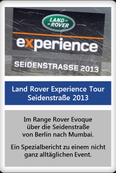 Land Rover Experience Tour 2013 (Teil 1)
