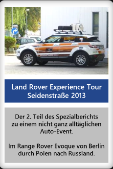 Land Rover Experience Tour 2013 (Teil 2)